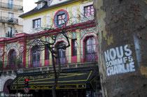 Nous sommes Charlie, Bataclan, Paris, Février 2016