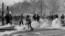 Nantes, Manifestation anti-aéroport, 22 Février 2014