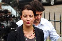 Cécile Duflot, ex-ministre du logement, députée EELV. Journées parlementaires d'EELV 2013