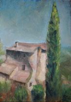 In der Provence   Öl_Lwd 50x70cm