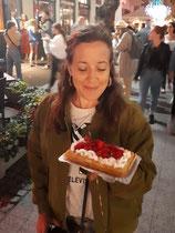 (c) Katharina Riepler: Beim Gofry essen in Sopot