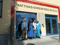 Besuch der Matthias-Ehrenfried-Grundschule in Rimpar, ...