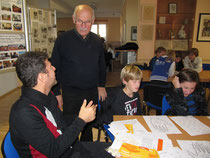 Herr Asam und Gerhard