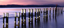 Meersburg, Fährhafen im Abendlicht 161103-081P