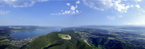 Bodensee Panorama Luftbild