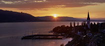 Sipplinger Hafen im Sonnenuntergang 170407-079