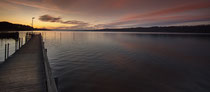 Sipplingen Ausblick auf den Obersee in der Morgendämmerung 200130-030