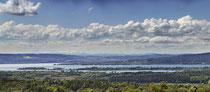 Blick vom Bodanrück die Mettnau, den Untersee und die Höri 180424-125