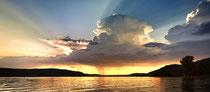 Gewitterwolke über dem Überlinger See 180822-018P
