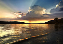 Gewitterwolke über dem Überlinger See 180822-018V