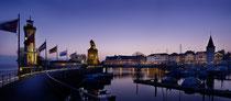 Hafen Lindau in der Abenddämmerung 150423-181