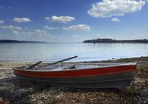 Ruderboot im Strandbad Litzelstetten 180417-301