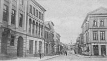 Blick in die Peterstraße im Jahr 1905