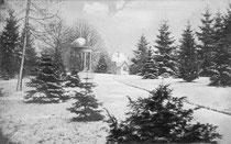 Der Eutiner Schlossgarten im Winter