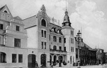 Das Schlosshotel im Jahr 1909