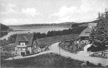 Fissau, eine bevorzugte Wohngegend, im Jahr 1939