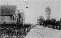 Bismarckstraße vor dem Ersten Weltkrieg