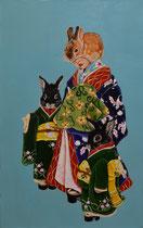 Japanese Bunny girl Ⅱ 2017 53×33.3cm