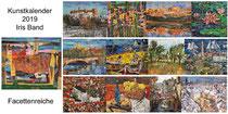 Kunstkalender 2019, Deckblatt und Innenblätter