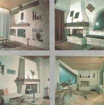 Nostalgisch: Eindrücke aus unserem ersten Katalog aus den 1970ern! Diercks Fliesen und Ofenbau in Bünde, Herforder Str. 213.