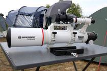 AR 102s / 615mm , Bresser Refraktor