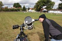 Sky Watcher Newton Teleskop , Sonnenbeobachtung