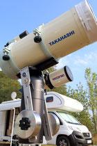 Takahashi Teleskop, TMB Refraktor auf Panther TTS 160 Montierung