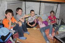 der Jogl dient auch als Heimkino für die Kids :-)