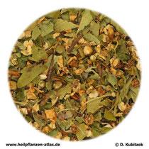 Weissdornblätter mit Blüten (Crataegi folium cum flore)