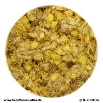 Ruhrkrautblüten; Helichrysi flos)