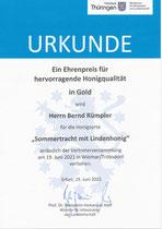 Ehrenpreis 2021 (nur ein Mal in Thüringen)