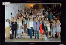 Les participants des artistes du monde de Cannes