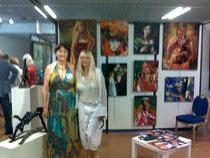 Nicole Hagege sculptrice et moi