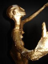 """""""Die Oscar"""" 0,55 m   Mischtechnik"""