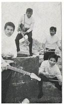 The Baginda Brothers - vlnr: Benny Baginda, Freddy Latumeten, Arthur Baginda, Daan Baginda