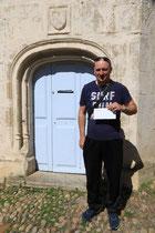 Mr Christophe Parys 2ème prix de la tombola