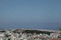 弁ヶ嶽から望む首里城