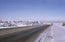An Weihnachten 1963 (sowie an Ostern 1964) fuhr ich –diesmal wieder mit dem Rambler - erneut von Colorado nach Californien und zurück. Die Fahrt über die winterlich eingeschneiten Highways in Colorado, Utah und Nevada, war stets ein Abenteuer.