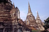 Autthaya war die Hauptstadt Siams von der Mitte des 14. Jahrhunderts bis zur Mitte des 18. Jahrhunderts