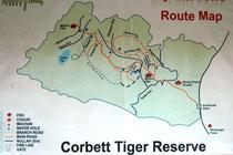 Der Corbett-NP liegt am Fuss des Himalaya. Er ist knapp 521 km2 gross und nach dem britischen Jäger und späteren Naturschützer Jim Corbett benannt, der 1936 massgeblich daran beteiligt war, dass dieser erste Nationalpark in Indien eingerichtet wurde.