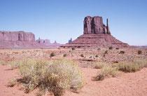 Anasazi-Indianer bauten die ersten Felshöhlenbehausungen vor mehr als 1500 Jahren, verschwanden allerdings noch vor dem Eintreffen der ersten Weissen bereits im 13. Jahrhundert aus der Region. Heute leben dort etwa 300 Navajo und pflegen ihre Traditionen.