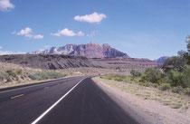 Im Jahre 1999 besuchte unsere Familie (meine Frau Rosemarie, unsere Tochter Sarah und ich), wieder den Südwesten der USA. Von Bern via Amsterdam ging es nach Las Vegas und von dort mit dem Mietauto Richtung Zion National Park.