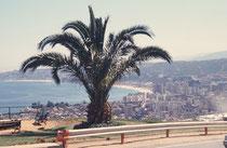 Blick auf Valparaiso, das Nizza Chiles an der Westküste nicht weit von Santiago.