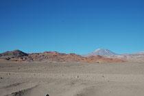 Die Rückfahrt nach San Pedro de Atacama zog sich zwar weit in den Abend hin, aber bleibt unvergesslich, wegen der einmaligen Bilder.
