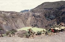 Mit 3432 Metern ü.M. ist der Vulkan Irazú der höchste Punkt der Cordillera Central. Die letzten, grösseren Ausbrüche fanden zwischen 1962 bis 1965 statt.