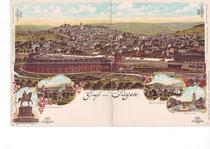 Der große Ringlokschuppen von 1888 in Siegen
