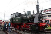 """Dampflok """"Waldbröhl"""" war das Highlight der Austellung im Bereich des ehemaligen Bw Siegen (Aufnahme: Irmine Skelnik, Siegen)"""