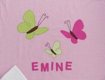 Babydecke Schmetterline Name