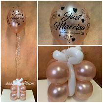 """Geschenkbox 10,00€ + 11"""" Latexballons 3,80€"""