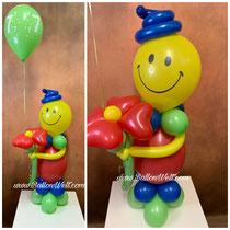 Luftballonfigur: 20,00€   Blume: 4,50€   Heliumballon: 3,00€
